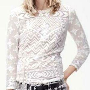 Isabel Marant pour H&M Lace Top Size 8